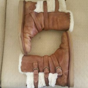 Uggs boots with buckles